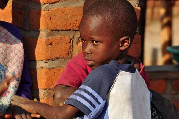 Kinderen in Sitima.