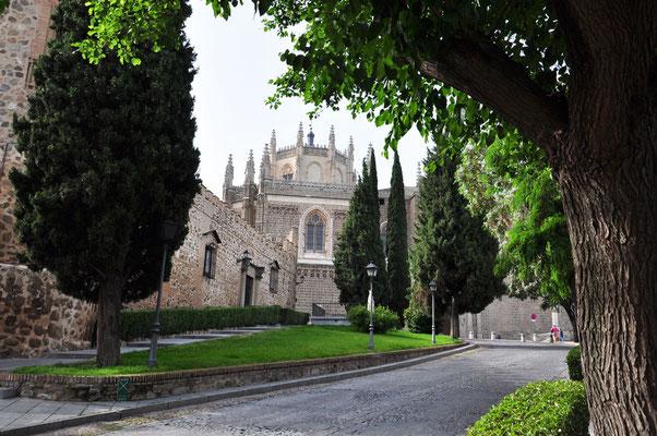 zicht op 'Monasterio de San Juan de los Reyes'