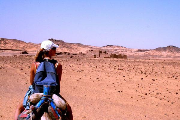 Op weg naar het St.Simeon's klooster in Aswan