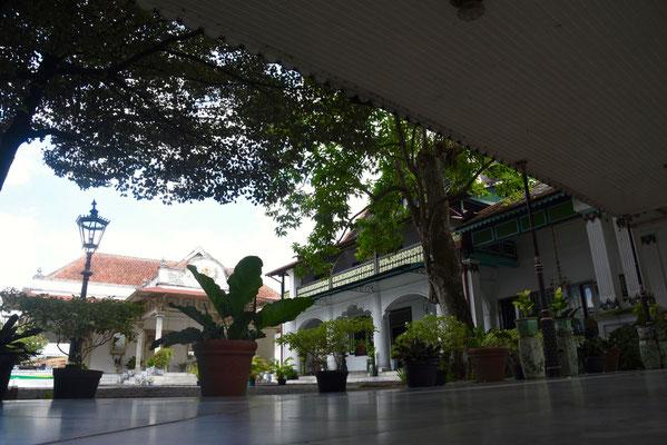 Het 'Kraton' of het paleis van de sultan