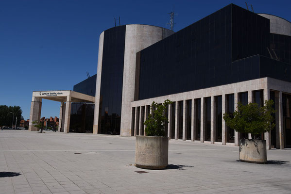 Het moderne stadhuis van Leon
