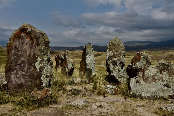 Stonehenge in Armenië oftewel Zorats Karer nabij Karahunj