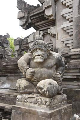 Ornament bij ingang van tempel