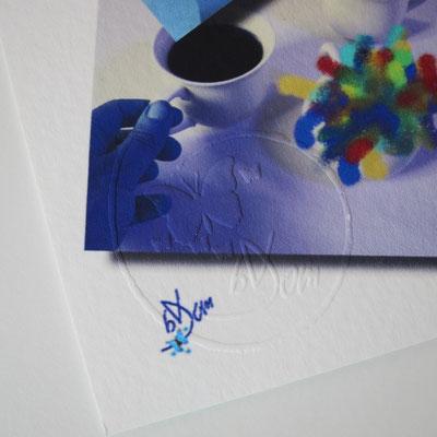 exemple d'œuvre signée