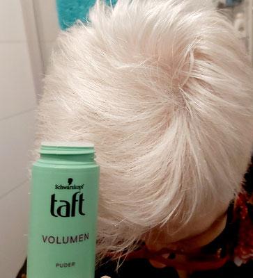 Der Haaransatz hat wieder richtig tolles Volumen