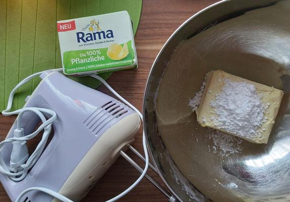 Start frei für die Buttercreme mit Rama