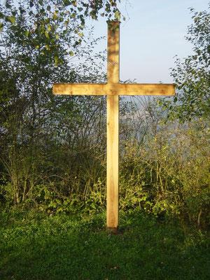 Errichtung Kreuz am Götzberg