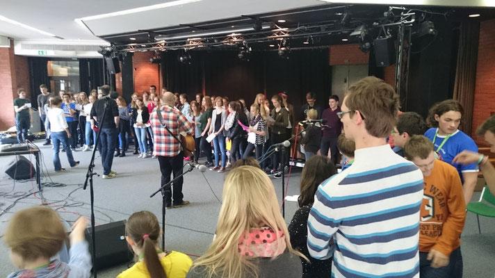 Schulkonzert im Gymnasium Johanneum Lüneburg