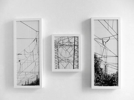 Martina Lückener  Ausstellung Linien 2014