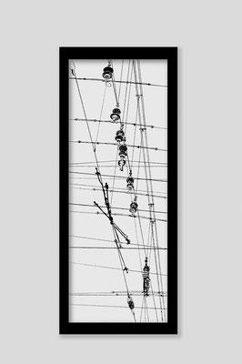 Martina Lückener  Linien 5  2014 80x30cm Zeichnung