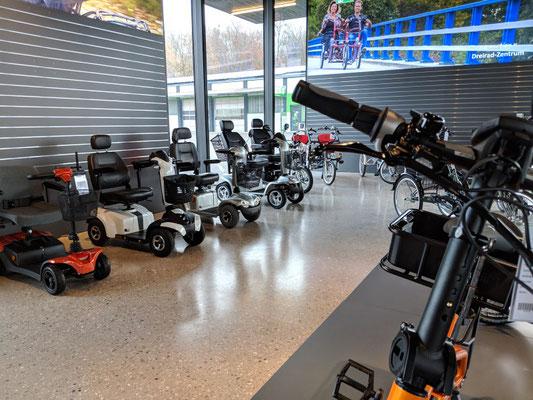 Zentrum für Elektromobile Bad Hall in Österreich