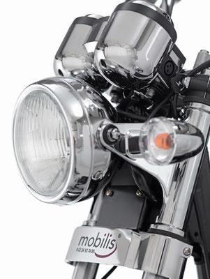 Beleuchtung vom Mobilis Elektromobil M103