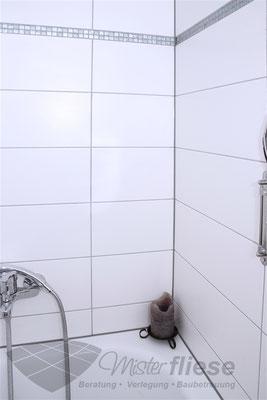 Fliesenverlegung Badezimmer im Wannenbereich