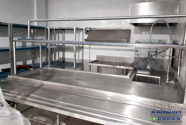 Muebles de acero inoxidable para restaurantes