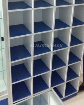 mostradores de madera, vitrinas para farmacia, vitrinas para papeleria, muebles para farmacia, muebles para papeleria, Anaqueles para tiendas