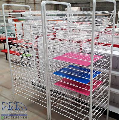 estantes para papel extendido, muebles para papelerías