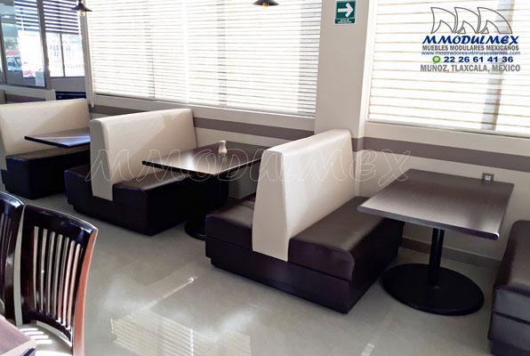 Booths para restaurantes, sillones para restaurantes