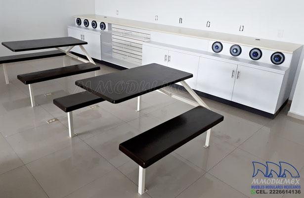 Muebles para comida rápida para minisuper