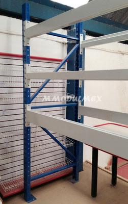 Vigas y marcos de rack de carga pesada