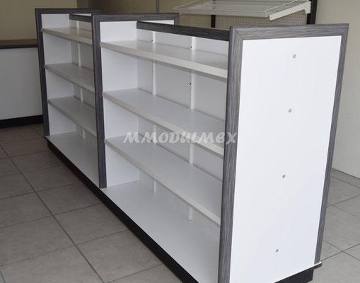 mostradores de madera, vitrinas para farmacia, vitrinas para papeleria, muebles para farmacia, muebles para papeleria, góndolas de madera
