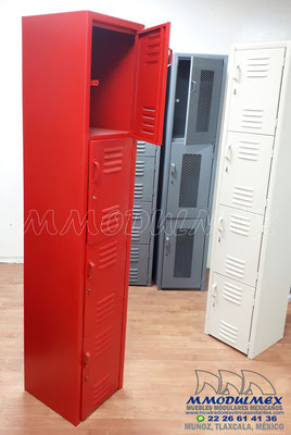 Lockers metálicos de colores