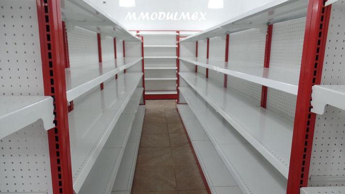 mostradores de madera, vitrinas para farmacia, vitrinas para papeleria, muebles para farmacia, muebles para papeleria, góndolas para supermercado