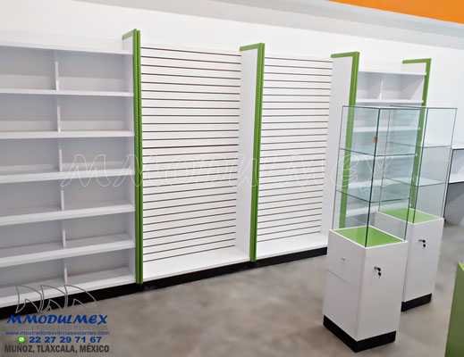 muebles para farmacia, aparadores para farmacia, mostradores para farmacia, vitrinas para farmacia
