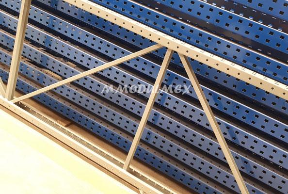 Marcos de racks de carga industrial