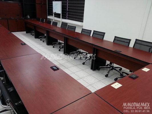 escritorios, muebles de melamina para oficina