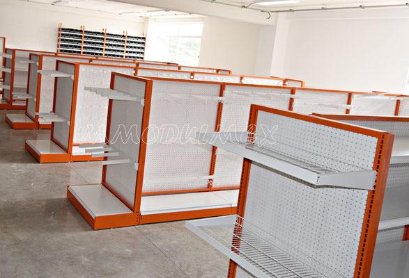 Muebles para ferreterías, mostradores para ferreterías, anaqueles para ferreterías, rack para truper, góndolas para ferreterías
