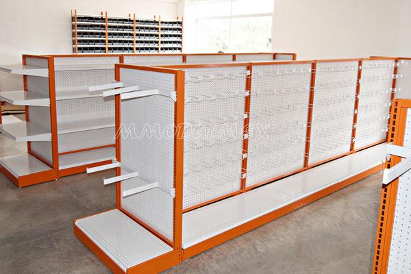 Muebles para ferreterías, mostradores para ferreterías, anaqueles para ferreterías, rack para ferretería, góndolas para truper y construrama