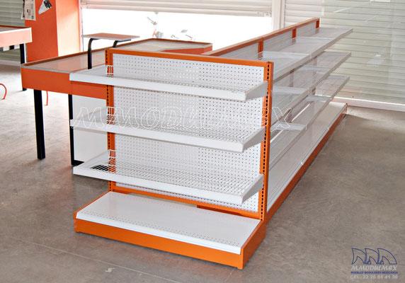 Muebles para ferreterías fix o truper, mostradores para ferreterías, anaqueles para ferreterías, rack para ferretería, góndolas para ferreterías