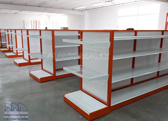 Muebles para ferreterías, mostradores para ferreterías, anaqueles para ferreterías, rack para ferretería, góndolas para ferreterías