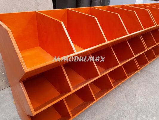 Muebles para semillas, muebles para chiles secos, muebles para especias, nichos de madera, cajones de madera