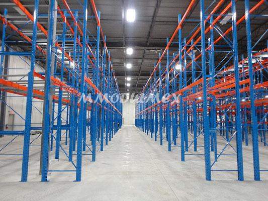 Racks de carga pesada industrial