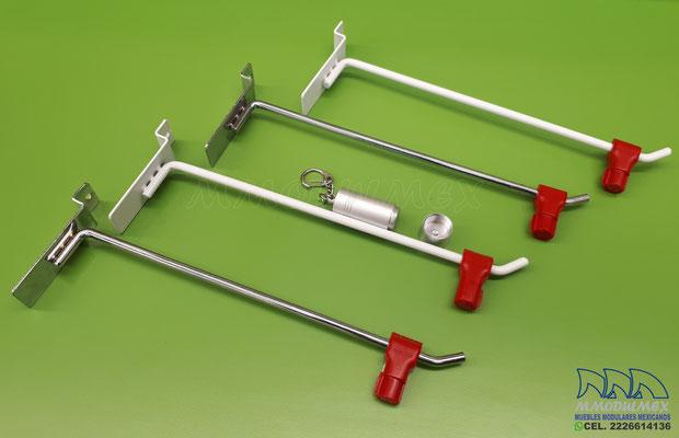 accesorios para panel ranurado