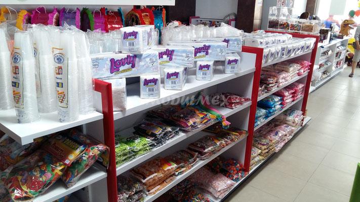 Muebles para dulcerías, muebles para venta de dulces, muebles para dulce a granel, dulceras de acrílico, dulceros de madera, muebles dulceros, exhibidores de dulces, muebles de madera para dulces, acrílicos para dulces