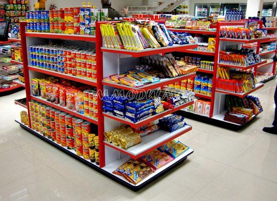 Muebles de tiendas tipo oxxo, mostradores para farmacia, estantes para tiendas, vitrinas para papelería, estantes y anaqueles de madera