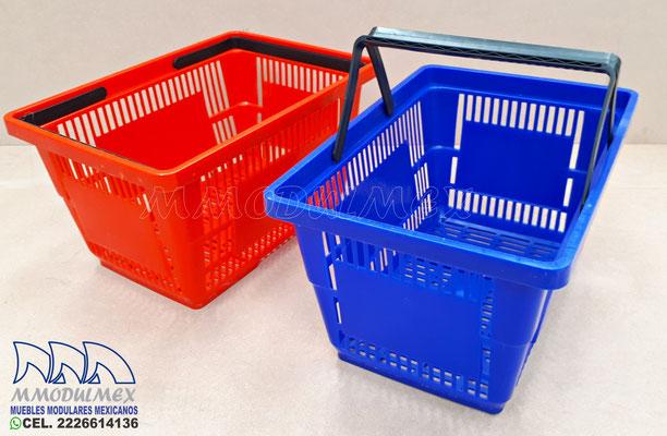 canastillas para supermercado, canastas con ruedas para súper, canastillas para tiendas