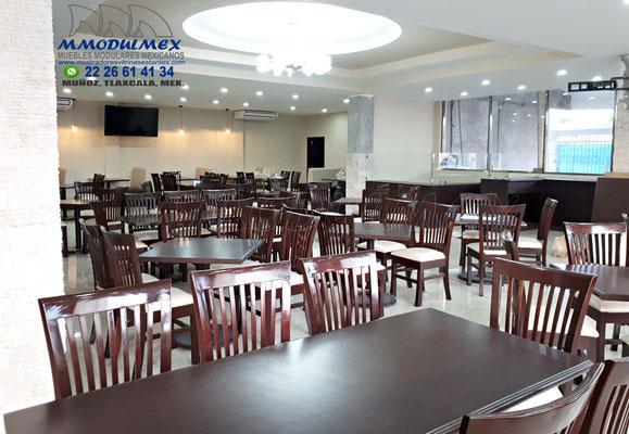 Muebles para restaurantes, mesas para restaurantes
