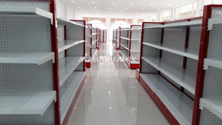 Góndolas para supermercados, góndolas para abarrotes