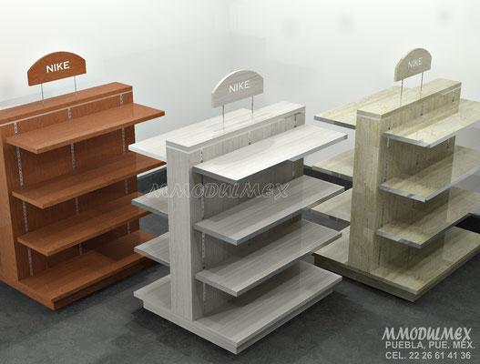 Muebles para ropa, muebles para cosméticos, muebles para perfumes