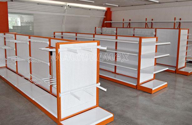 Muebles para ferreterías, mostradores para ferreterías, anaqueles para truper, rack para ferretería, góndolas para ferreterías