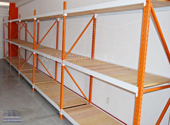 Racks de carga pesada y semi pesada