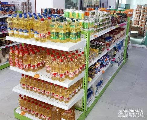 Góndola para supermercado