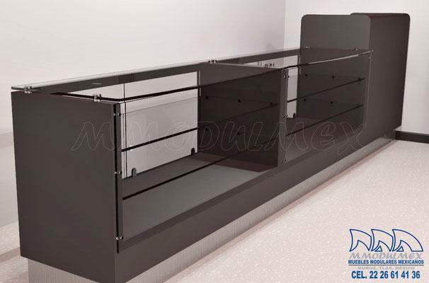 Muebles para boutique, muebles para cosméticos, vitrinas para cosméticos, vitrinas para perfumes, exhibidores para cosméticos