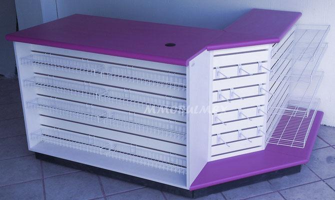 Muebles de tiendas tipo oxxo, mostradores para farmacia, estantes para tiendas, vitrinas para papelería, mostradores para negocio