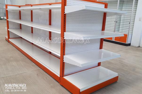 Góndolas para supermercados, anaqueles metálicos, estantes metálicos, entrepaños metálicos, estantería metálica