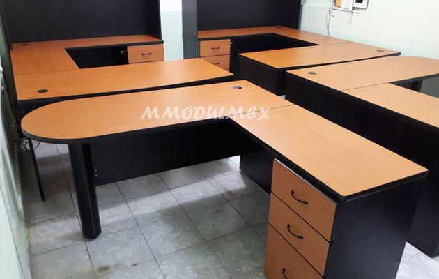 Escritorios de melamina, muebles para oficina