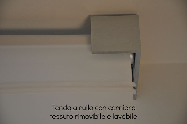 tenda a rullo lavabile